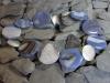 thumbs agaat collier blauw schijven Colliers