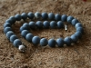 thumbs schuimkoraal blauw colliers/hangers
