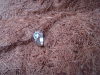 thumbs zilver aquamarijn ring Ringen