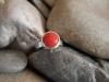 thumbs zilver bloedkoraal ring Ringen