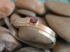 thumbs armband zilver roodgoud sterrobijn Armbanden