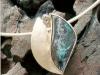 thumbs geelgoudenhanger opaal Stage sieraden