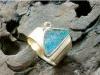 thumbs geelgoudenring opaal diamant Stage sieraden